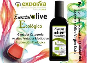 Premio a la calidad Expoliva 2019 – Ecológico